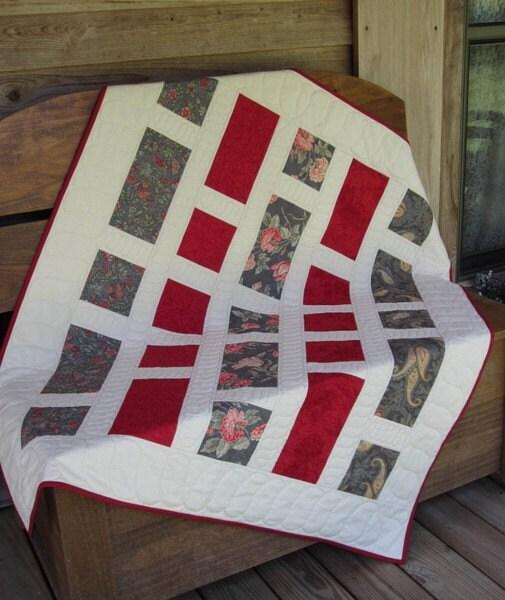 Quilt Pattern Chubbie Take 5 Fat Quarter Favorite Lap