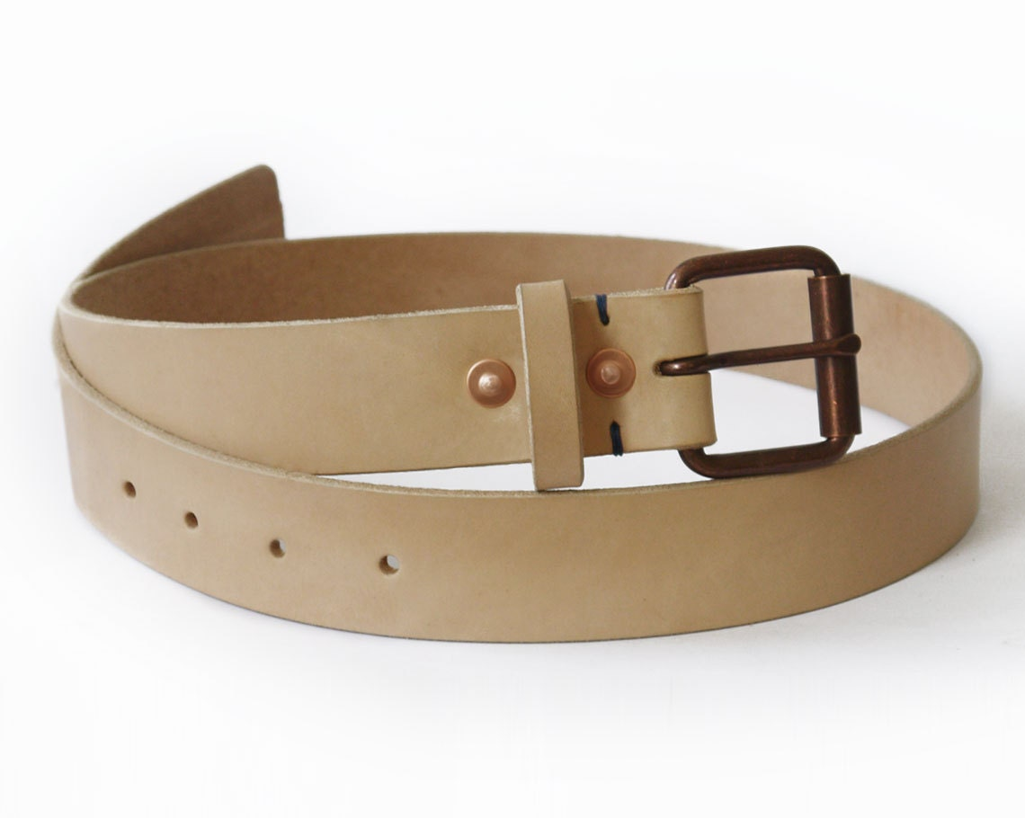Veg Tan Leather Belt Veg-tan Leather Belt