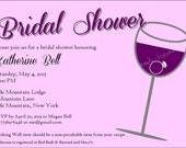 Bridal Shower Invite Item 00207