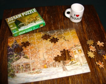 Miniature Jigsaw Puzzle, Custom Photo