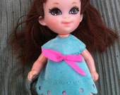 Vintage little kiddle doll by mattel from the 1970's