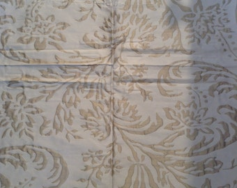 French country shabby chic Silk fabric by Cowtan and Tout pattern Mongiardino