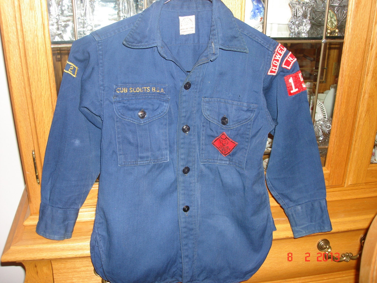 vintage cub scout shirt from the 1960 s vintage