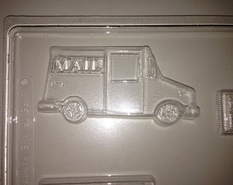 J102 Chocolate Novelty Mold - Mail Carrier