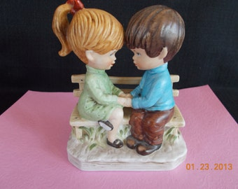 vintage Moppets boy and girl