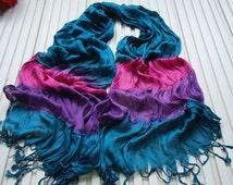 3 colors viscose silk feeling scarf women spring scarf