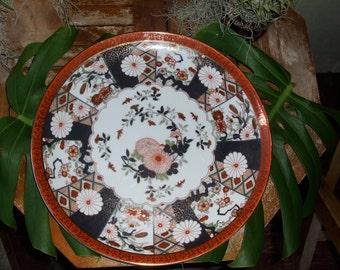 "Vintage Saji Japanese Imari Plate ""FREE SHIPPING"""