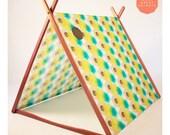 Lime Hexagons 'Wonder Tent'
