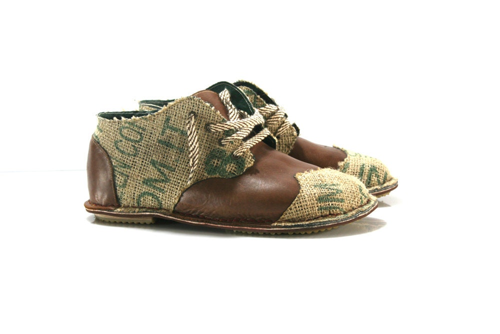 light brown leather and utah derby shoes for