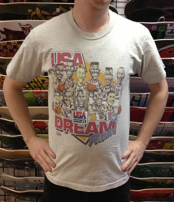 Vintage 1992 Usa Dream Team T Shirt