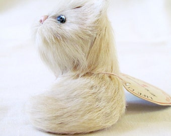 Real life cat figurine