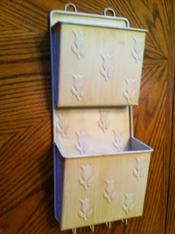 Wall Mail Organizer And Key Holder By Michelleshouse On Etsy
