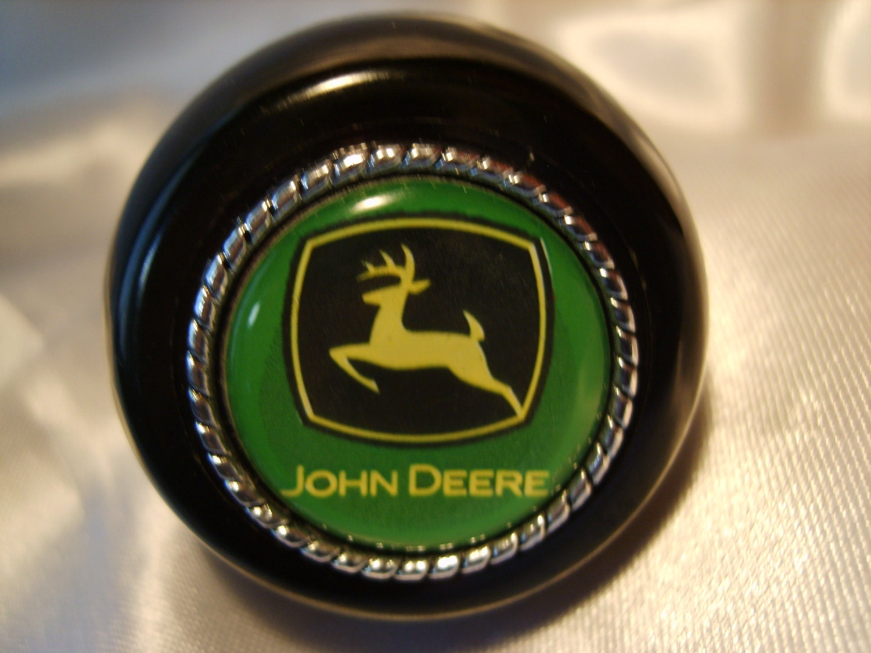 John Deere Shifter : John deere green shift knob wine stopper by