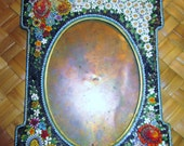 Venetian Vintage Stone Mosaic Picture Frame (from the 1800's)