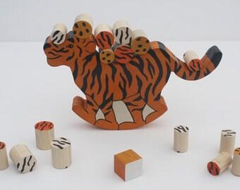 Tumble Tiger Balancing Toy