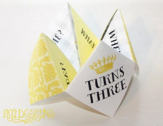 RESERVED custom Origami Birthday Party Invitation - photo#15
