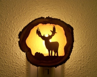 Mule Deer buck nightlight