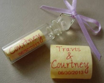 Personalized Wedding TIME CAPSULE for the Bride