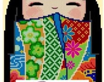 Kokeshi Girl Doll 2 - HIROKO
