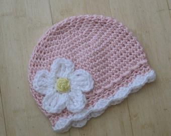 Newborn Only Flower Hat