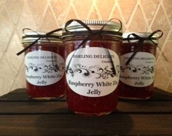Oh So Good Raspberry White Zinfandel Wine Jelly