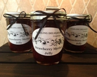Fantastic Strawberry Merlot Wine Jelly
