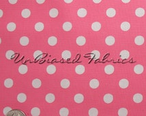 Annie's Big Dot - Pink/ White by LakeHouse Dry Goods Fabric Fat Quarters