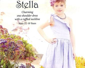 Pattern - Stella Dress Sewing Pattern by Violette Field Threads