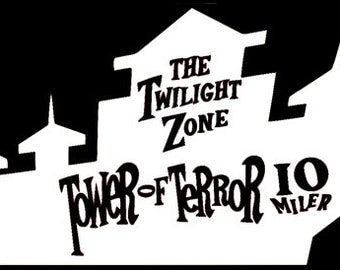 Tower of Terror Vinyl Decal