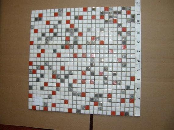 Retro Mosaic Porcelain Tile 1970 39 S Unused Nos 1 By