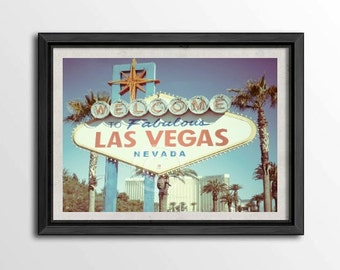 Las Vegas Photography, Las Vegas Sign, Welcome To Las Vegas, Las Vegas Art 8 x 10