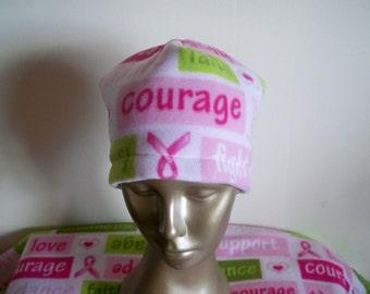 Survivor Words of Inspiration Fleece Hat