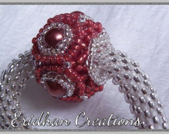 Core beaded bead - tutorial