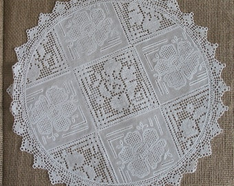 Vinyl Lace Doily For Rustic Country Style Wedding Decoration 1 Doily