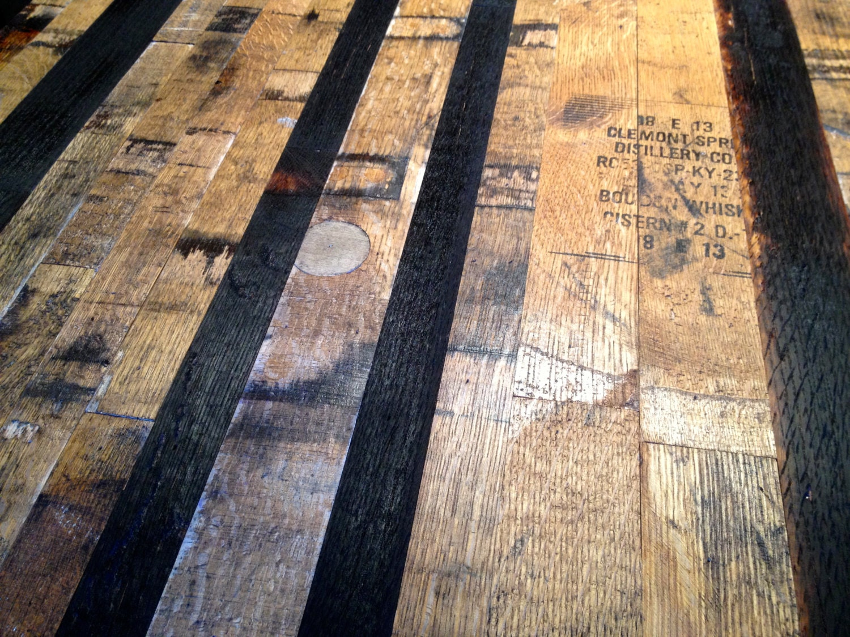 Whiskey Barrel Flooring Veneer Project Pack