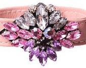 Mini Pink Hydrangea Bracelet