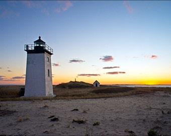 Long Point Lighthouse Cape Cod National Seashore 8x12 Fine Art Print