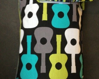 Groovy Guitar Travel Wipe/Diaper Pouch