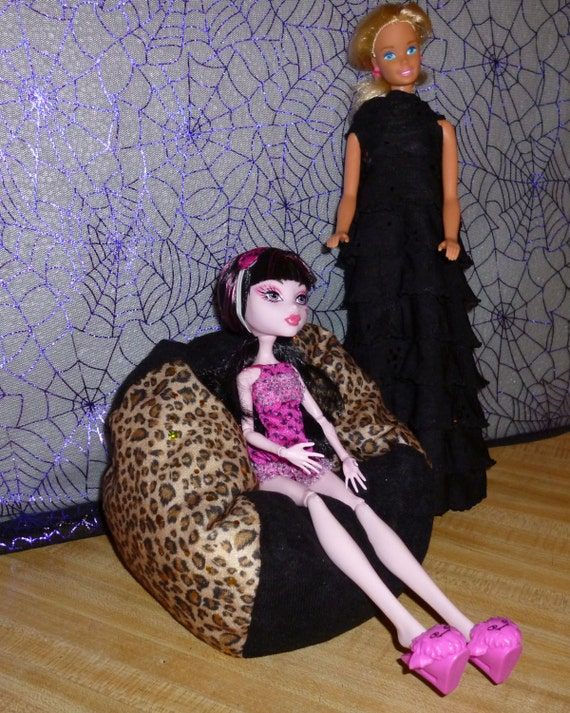 Items Similar To Monster High And Barbie Size Bean Bag