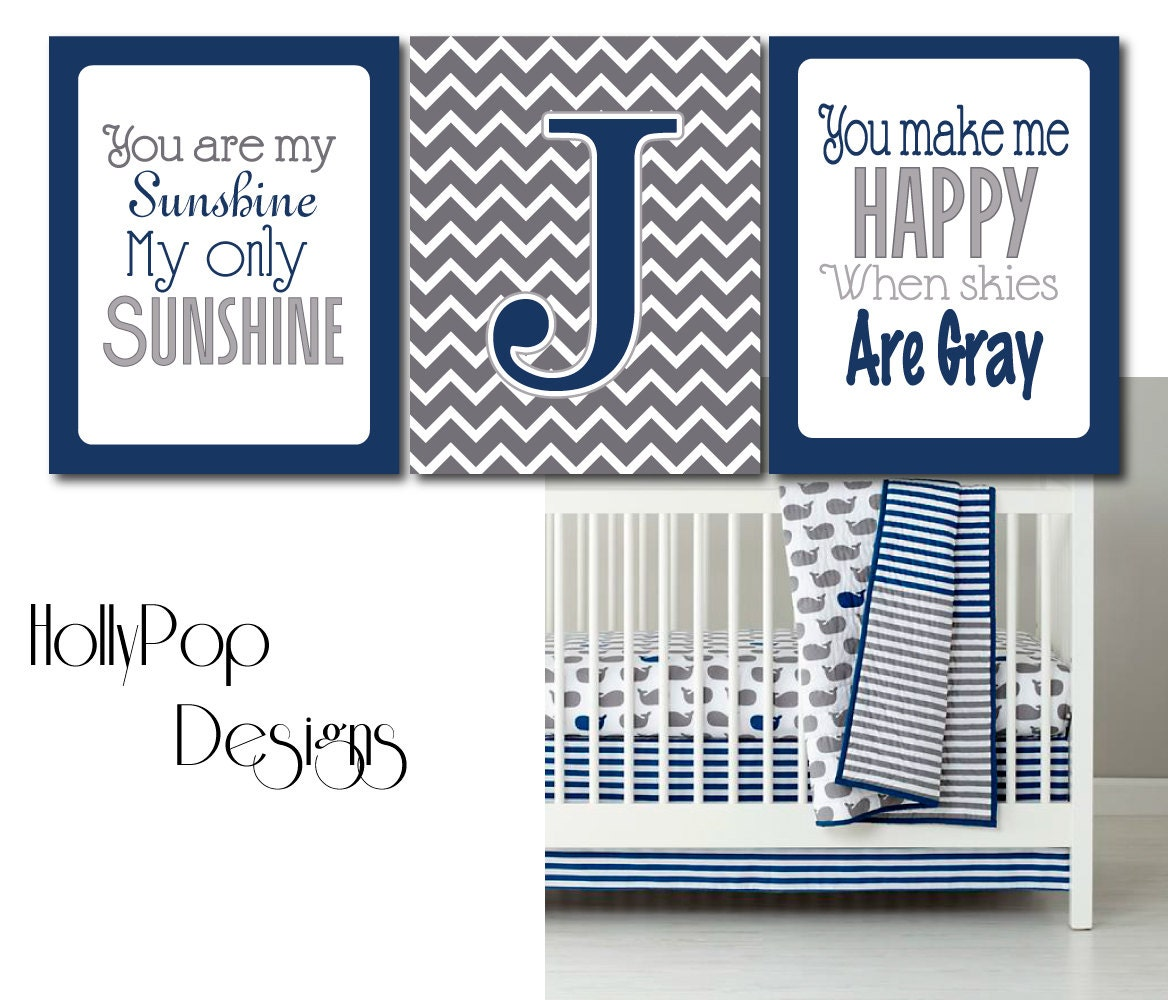 Baby boy bedding nautical - Grey And Navy Blue Bedding Viewing Gallery