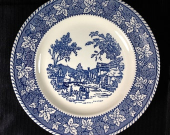 Stratwood Collection by Homer Laughlin Shakespeare Country Dinner Plates