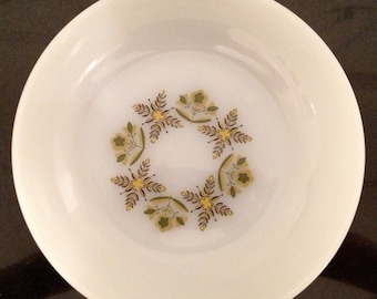 Set of 3 Anchor Hocking Meadow Green Bowls