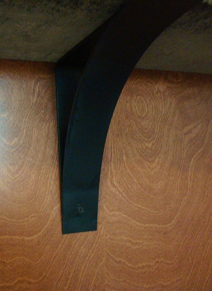 Wrought Iron Forged Metal Countertop Corbel Bracket Granite