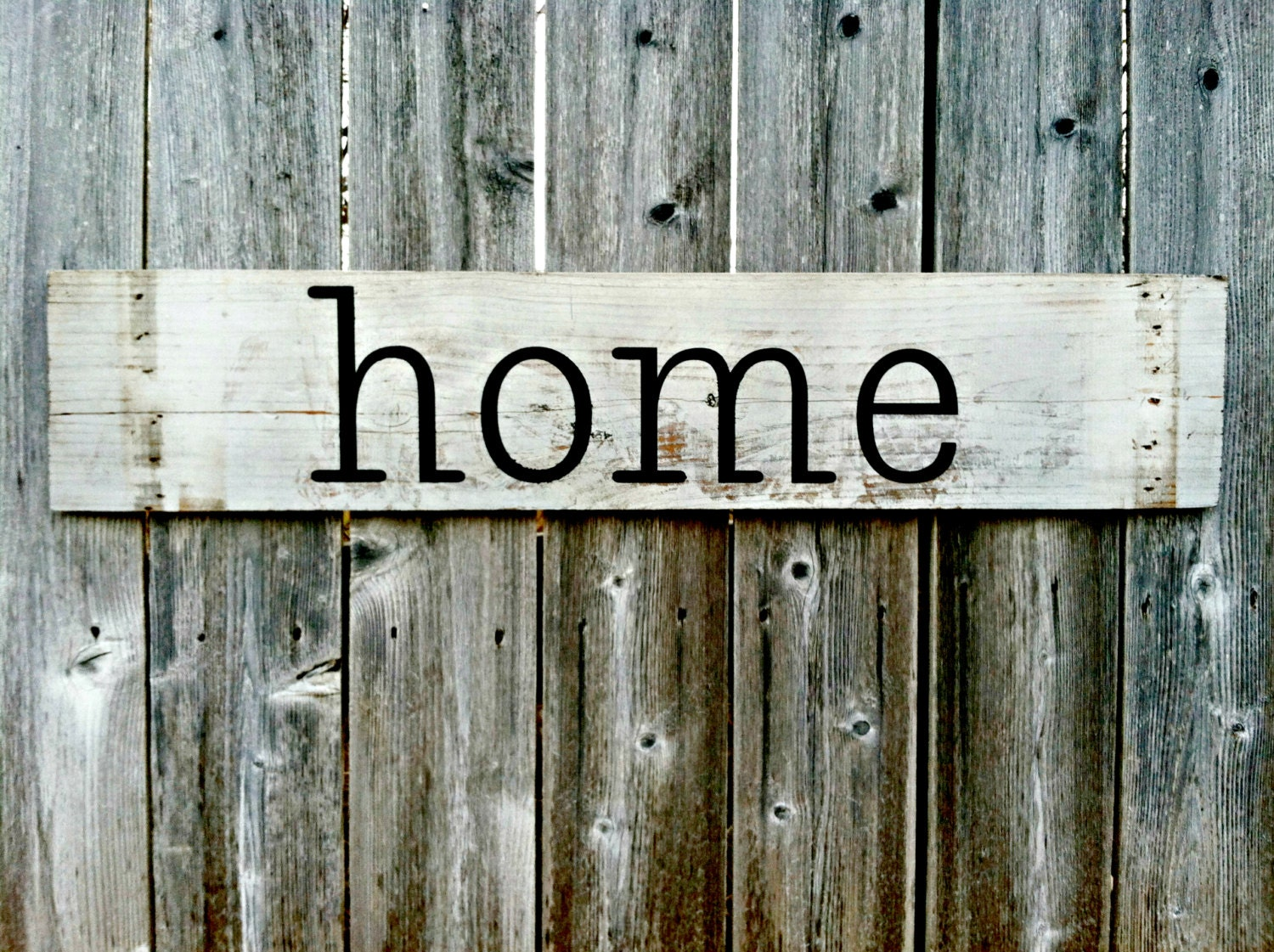 Handmade Wall Decor Home Rustic Wooden Sign Antique