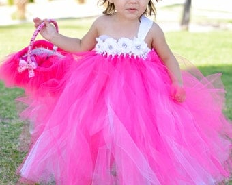 Flower girl tutu dress- 2T to 5T sizes