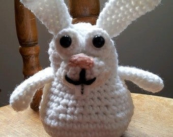 Cute And Adorable Easter Bunny(Crocheted)