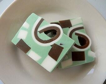 Pistachio Pudding Soap/ Glycerin Soap/ Handmade Soap/ Homemade Soap