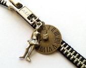 Degas Dancer Zipper Necklace