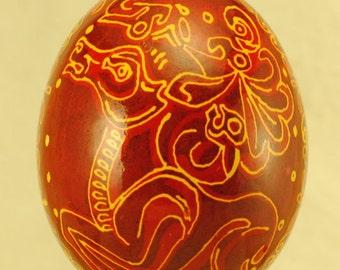 Ukrainian egg: Scythian Elk