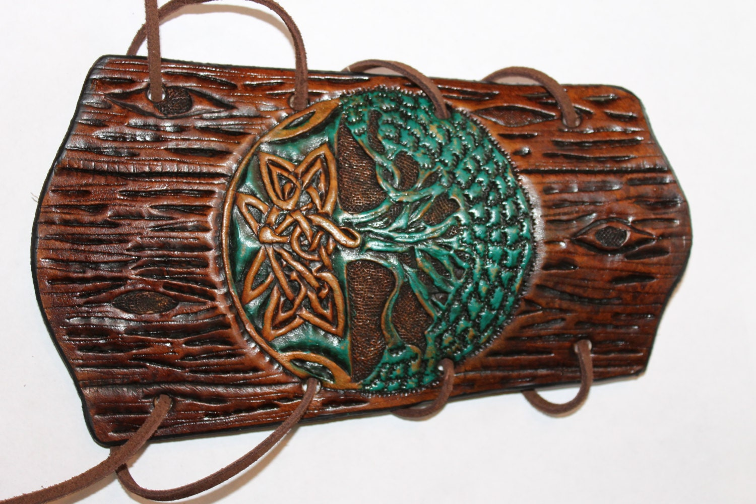 Leather Hand Tooled Archery
